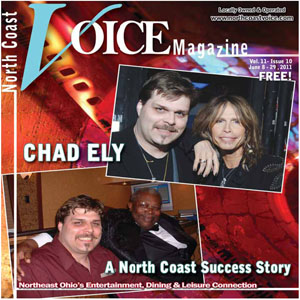 North Coast Voice - Chad Ely Cover